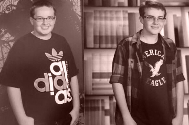 Teen boy loses weight at summer fat camp in the Pocono Mountains
