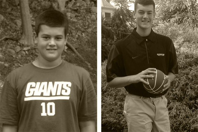 Teen baseball athlete loses weight and feels great as summer health camp in the Pocono Mountains