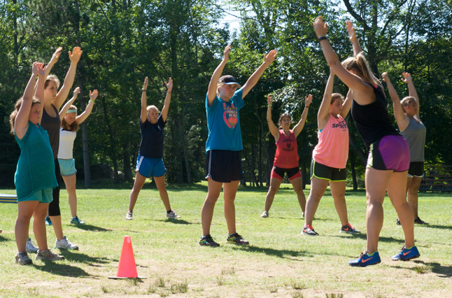 Camp Pocono Trails is the best summer weight loss camp, offering many exercise and fitness options for boys and girls