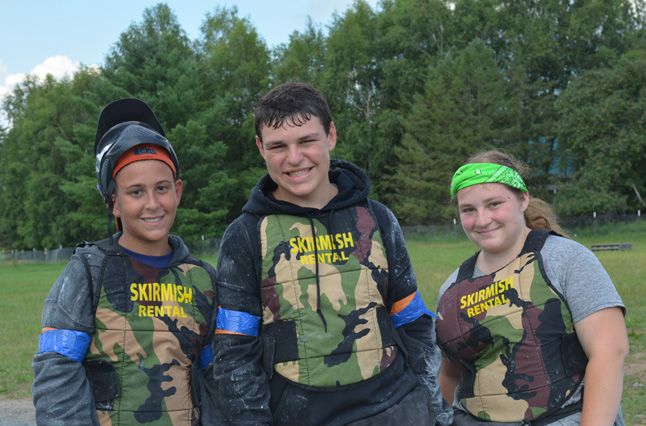 Take an optional trip and play paintball with your fellow summer campers with our #1 weight loss camp, Camp Pocono Trails